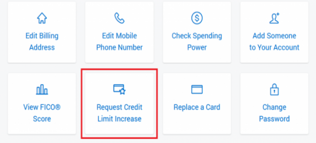amex increase your credit limit