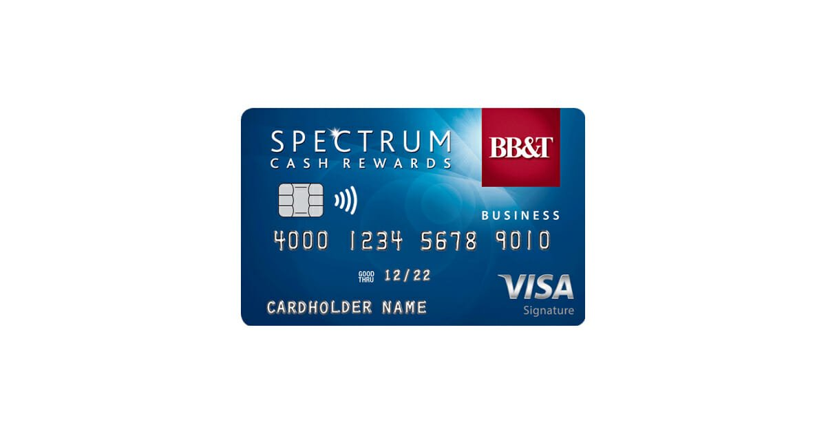 BBT Spectrum Cash Rewards for Business Credit Card