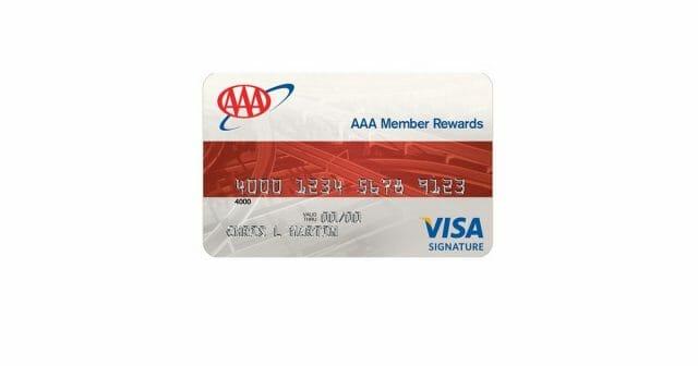 aaa member rewards card