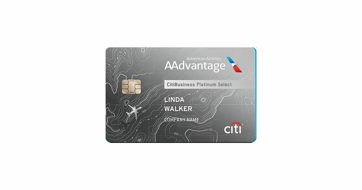 Aadvantage citibusiness platinum select