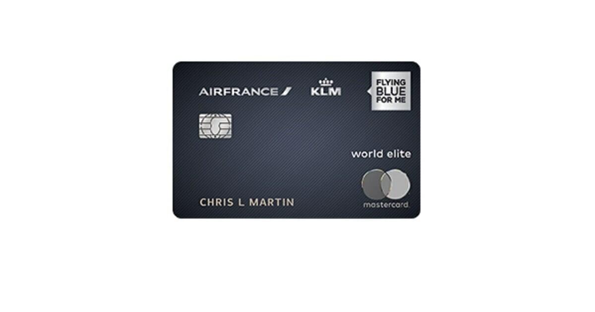 air france klm world elite mastercard