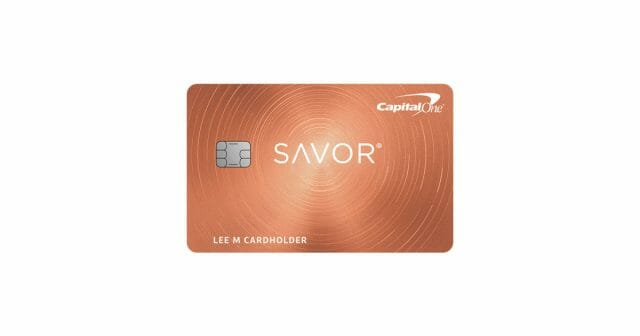 capital one savor rewards card