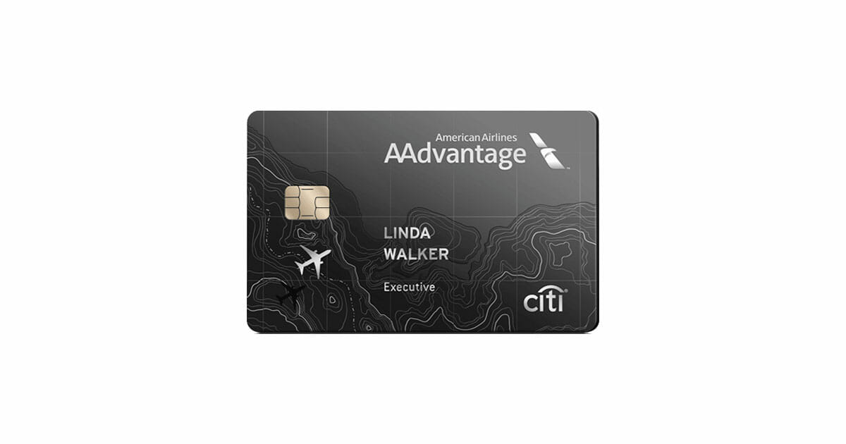 citi aadvantage executive world mastercard