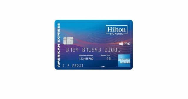 hilton honors american express surpass card
