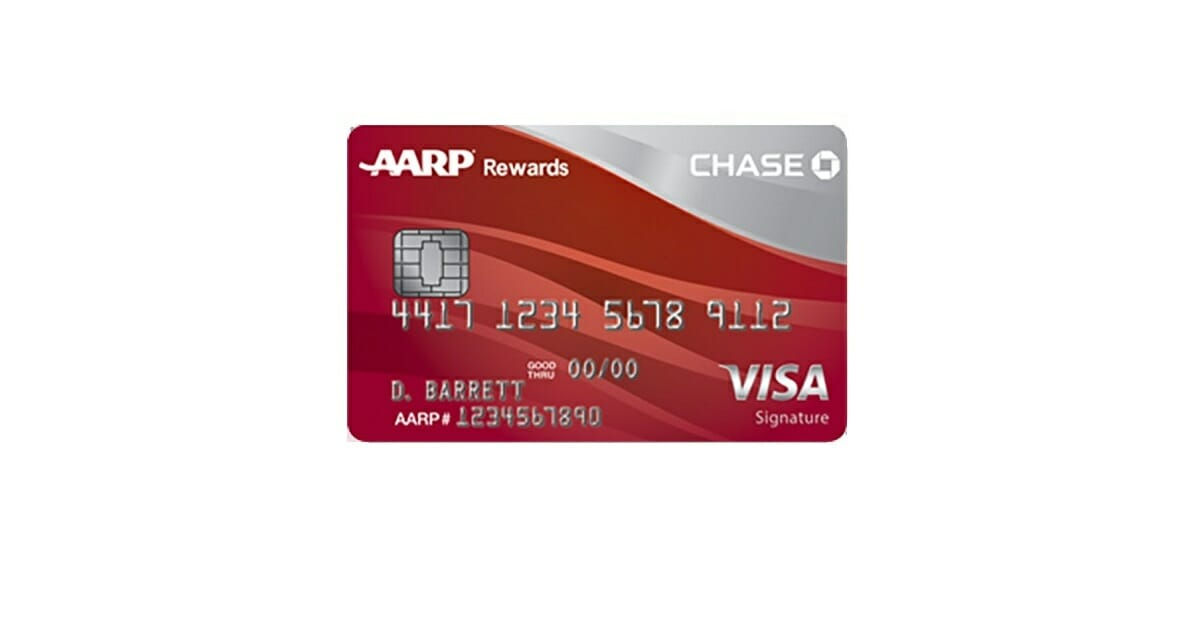 aarp rewards card from chase
