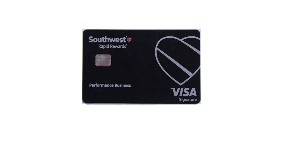 southwest rapid rewards performance business