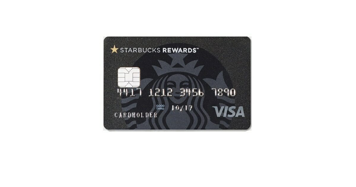 starbucks rewards visa