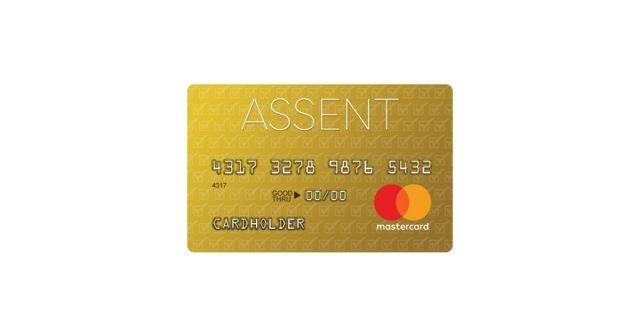 assent platinum mastercard secured