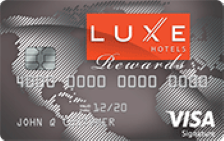 LUXE Hotels Rewards Visa Signature®