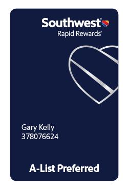 rapid rewards a list guide