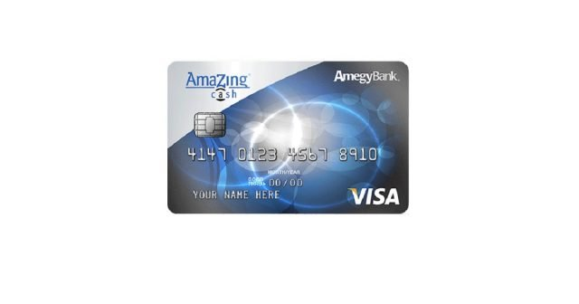 amegy bank amazing cash credit card