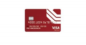 bok financial visa signature college real rewards card