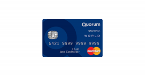 Quorum Cash Back World Mastercard