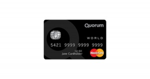 Quorum World Mastercard