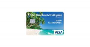 SDCCU Cash Rewards Visa Platinum