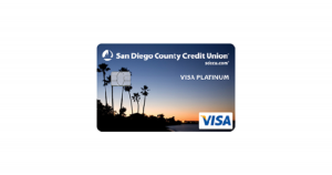 SDCCU Visa Platinum with Fly Miles Plus