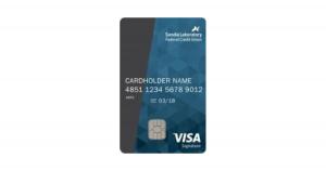 SLFCU Visa Signature Business Card