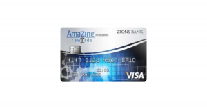 Zions Bank AmaZing Rewards for Business Credit Card