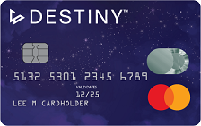 destiny credit card
