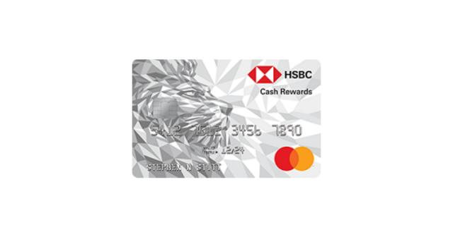 hasbc cash rewards mastercard