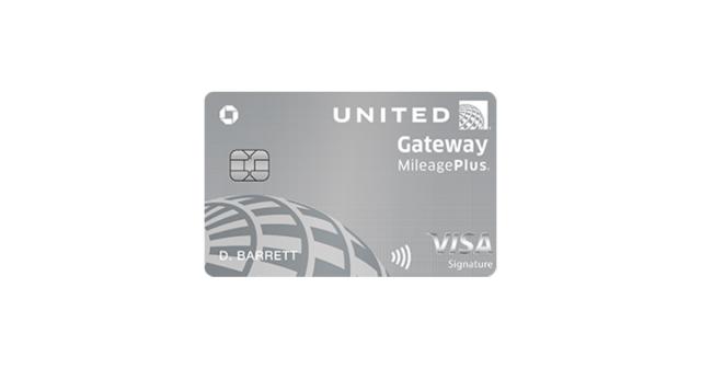 United Gateway Visa Signature MileagePlus Credit Card review