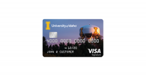 University of Idaho Rewards Visa