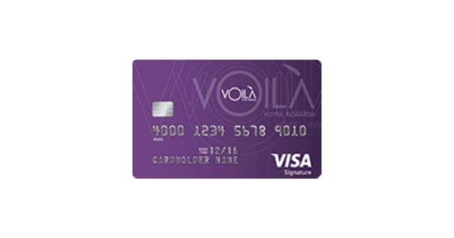VOILÀ Hotel Rewards Visa Signature®
