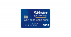 Webster University Rewards Visa® Card