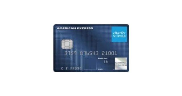 charles schwab investor card amex