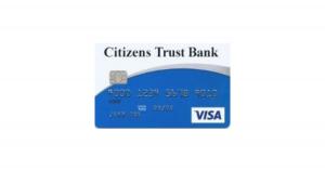 citizens trust bank visa classic secured credit card