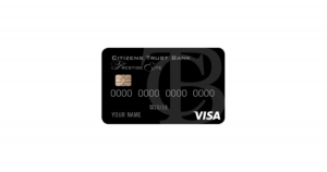 citizens trust bank visa prestige elite credit card