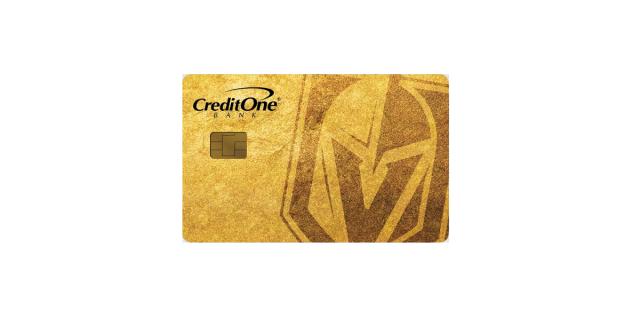 credit one bank las vegas golden knights
