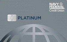 navy federal visa paltinum