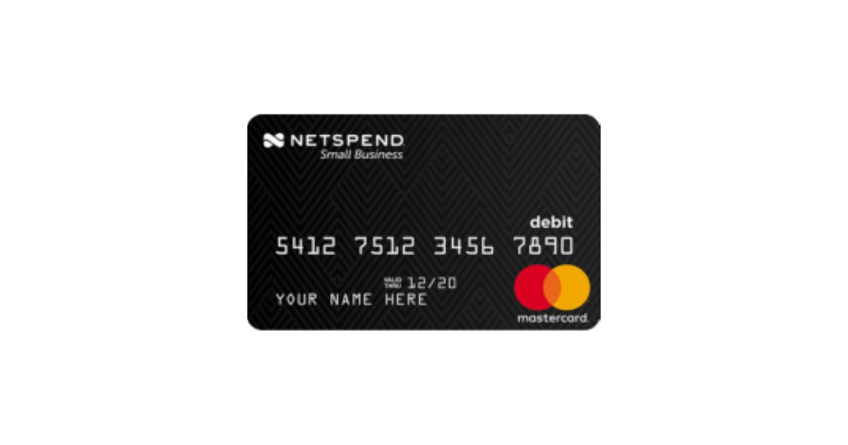 Netspend® Small Business Prepaid Mastercard - BestCards.com