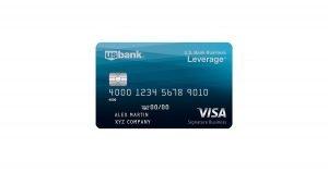 us bank business leverage visa signature