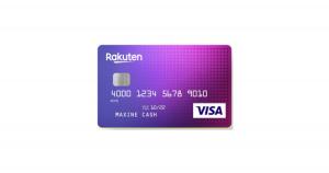 Rakuten Cash Back Visa® Platinum Credit Card