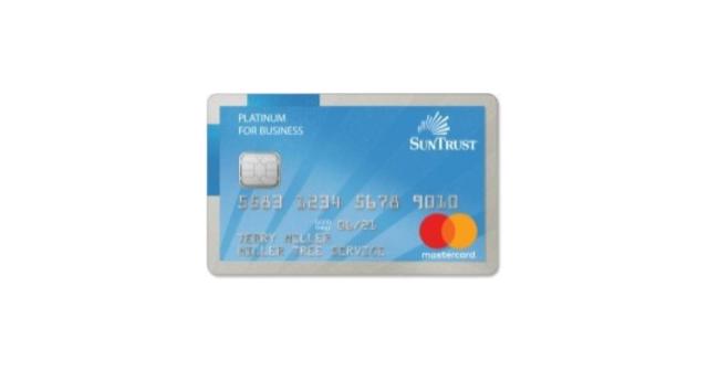 SunTrust Mastercard Non Profit Business Credit Card