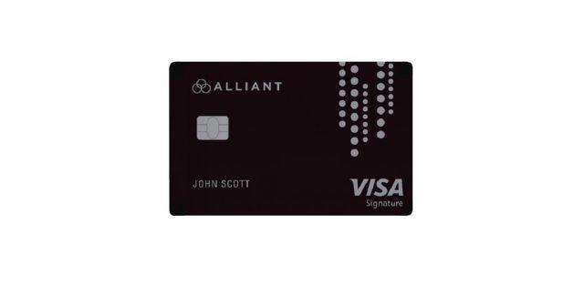 alliant cashback visa