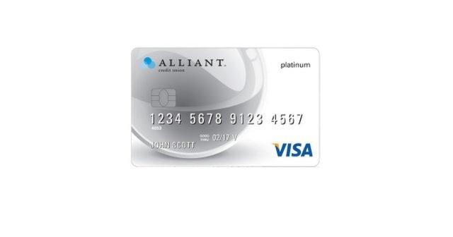 alliant visa platinum