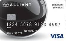 alliant visa platinum rewards card