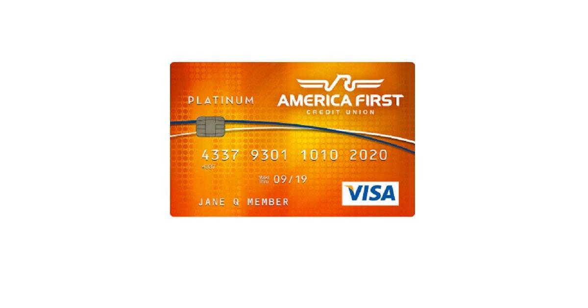 America First Credit Union Visa Classic Credit Card ...