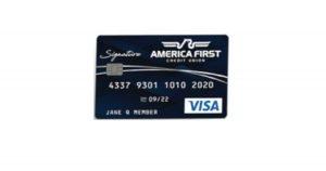 america first visa signature card