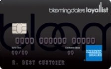 Bloomingdale's American Express® Card at the Top of the List