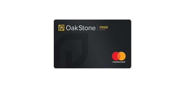 oakstone gold secured mastercard
