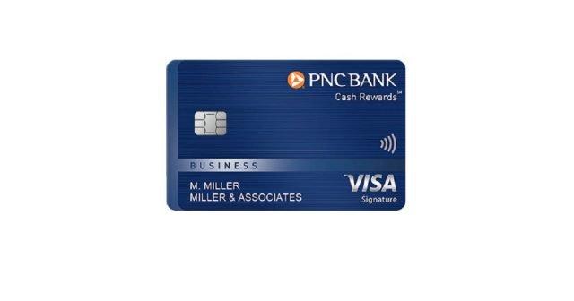 pnc cash rewards business card