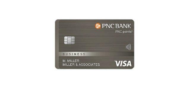 pnc points visa business card