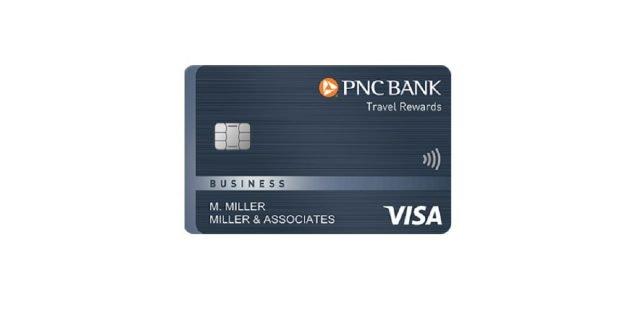 pnc travel rewards visa business