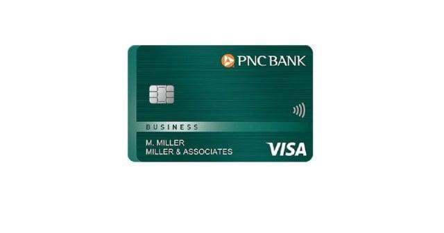pnc visa business credit card