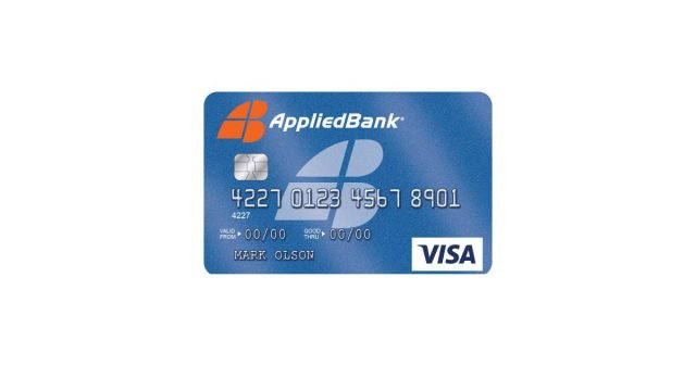 Applied Bank Unsecured classic Visa