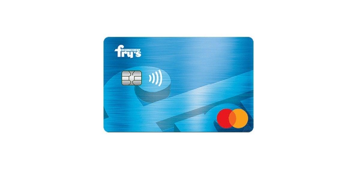 frys rewards mastercard